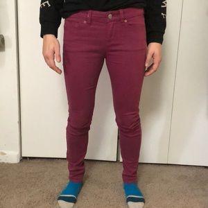 BDG ankle cigarette magenta 🦄 jeans 👖
